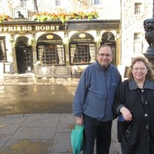 Jim and Valerie in Scotland